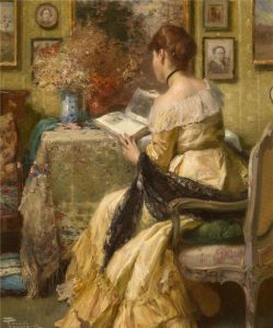 f5a741e28aaf6017fa657a70d3f0a581--woman-reading-book-art