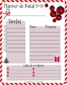 planner de natal 2017