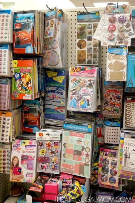 Craft-supplies-at-Dollar-Tree